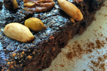 Gezonde brownie Healthy brownie