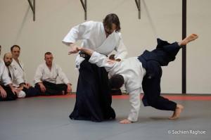 Aikido oefening