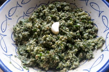 Zevenbladpesto Ground elder pesto