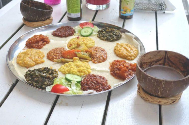 Azmarino Ethiopian food
