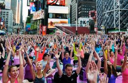 Internationale Yoga Dag International Yoga Day