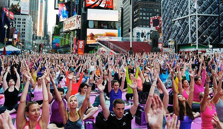 Internationale Yoga Dag International Yoga Day