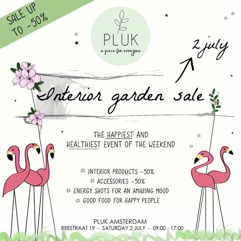 Garden Sale Pluk