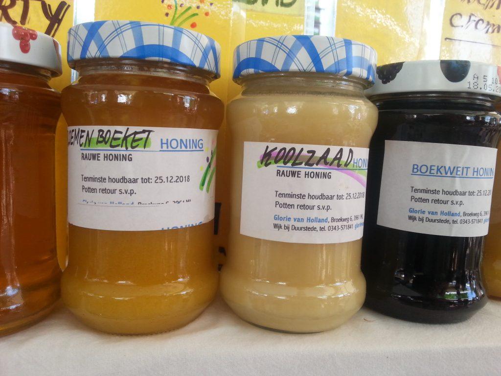 bewust rauwe honing eten
