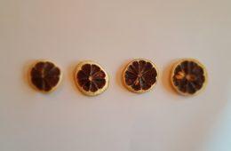 gedroogde citroen
